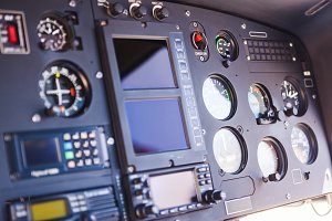 Helicopter Instruments Detail