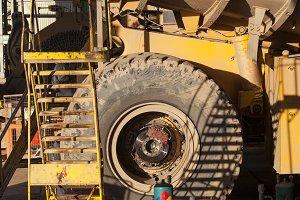 Coppermine Dumptruck Maintenance