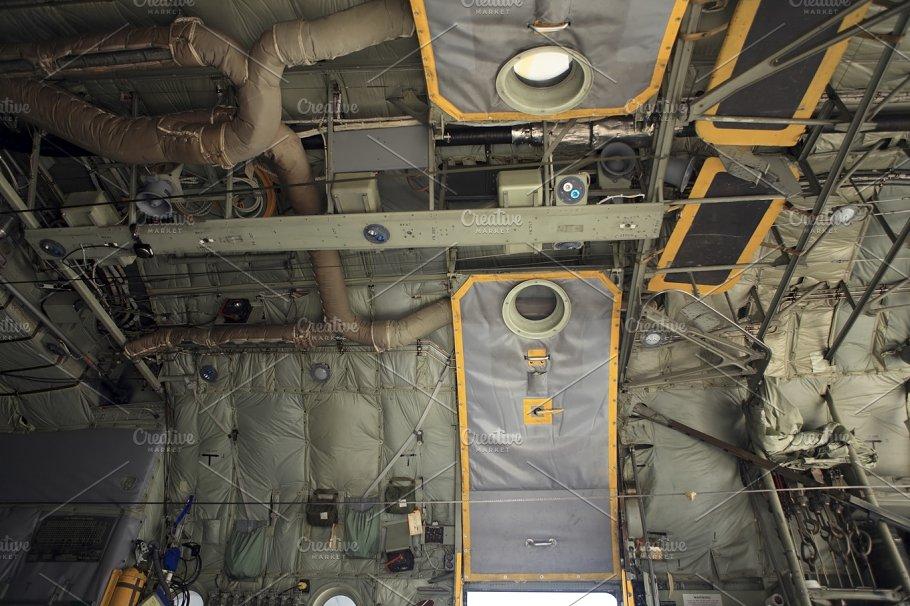 military transport plane interior transportation photos creative