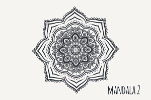 Mandala PDF PNG EPS10 №2