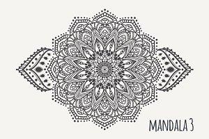 Mandala PDF PNG EPS10 №3