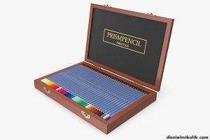 Wooden Color Pencil Box