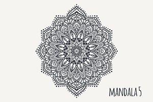 Mandala PDF PNG EPS10 №5