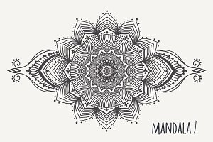 Mandala PDF PNG EPS10 №7