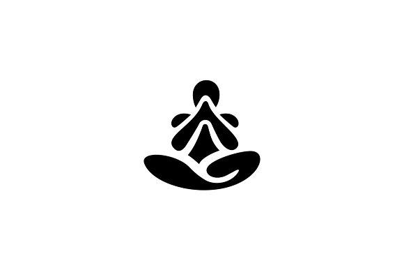 Yoga Logo Template Logo Templates Creative Market