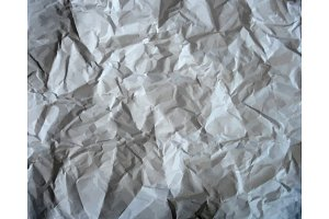 Set texture of crumpled paper.
