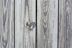Weathered White Wood Close-up Mockup