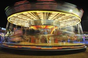 Carousel centrifuge