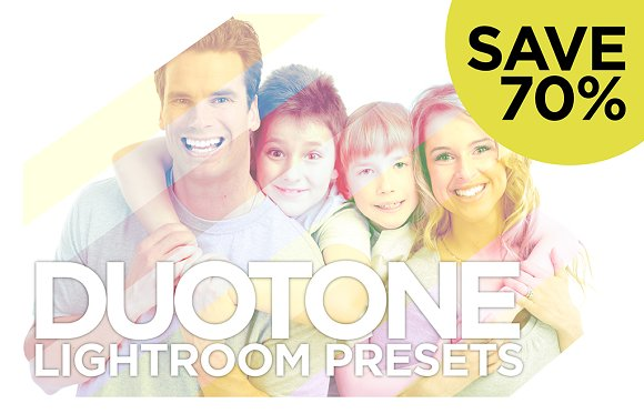 Duotone Presets Save 70%