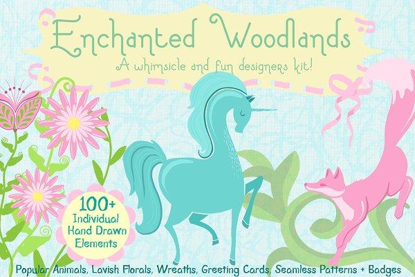Enchanted Woodlands Designer Kit