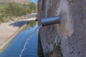 Natural water.