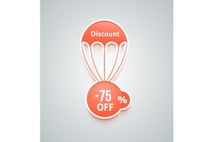 Discount parachute set