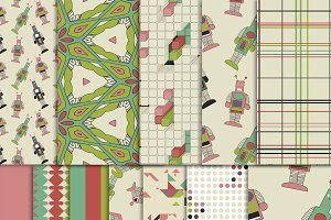 Robot Digital Paper Pack