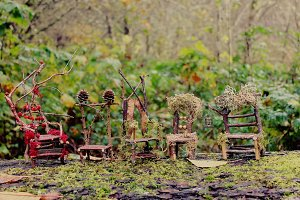 Row of Fairy Chairs