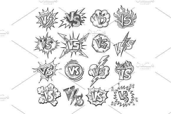 Versus Sketsh Labels