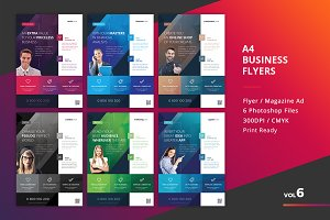 Corporate Flyer Templates 6PSD - #6