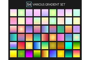 Multicolor gradient backgrounds