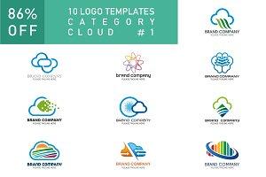 10 Logo Set - Cloud