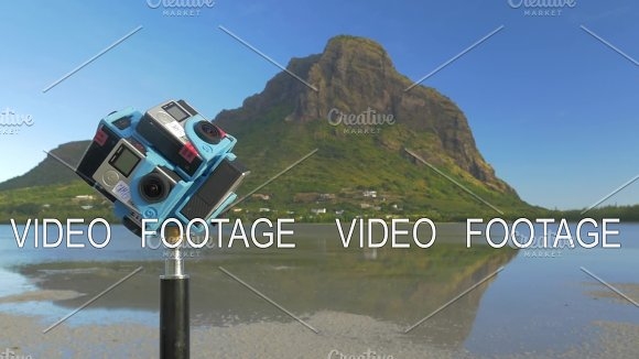 Shooting nature 360 degrees with six GoPro cameras