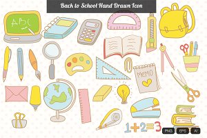 29 Back to School Hand Drawn