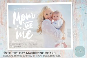 IM026 Mother's Day Marketing Board