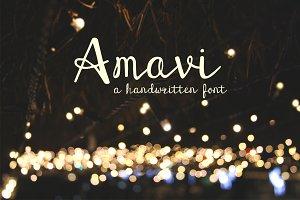 Amavi Font