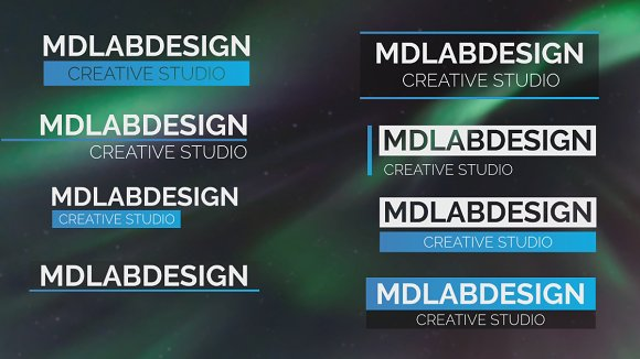 Modern Lower Thirds Templates Creative Market