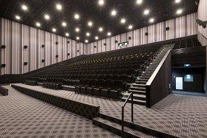 A big modern cinema hall