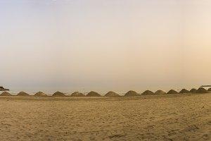La Concha beach.