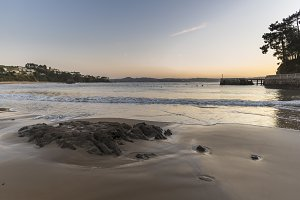 Perbes beach (La Coruna, Spain).