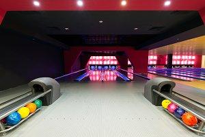 A beautiful modern luxury bowling