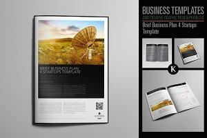Brief Business Plan 4 Startups