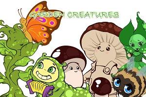 Garden Creatures Set
