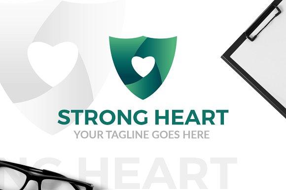 Strong Heart Logo
