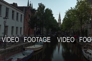 Timelapse of evening Amsterdam