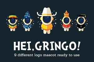 hei Gringo! 9 logo versatile variant
