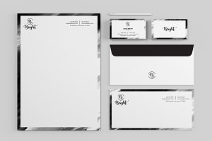 Bright - Simple Clean Stationery