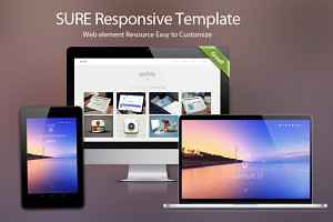Sure : Responsive theme for startups