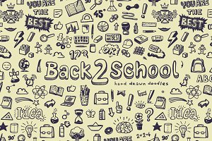Back to School 2 (seamless pattern)