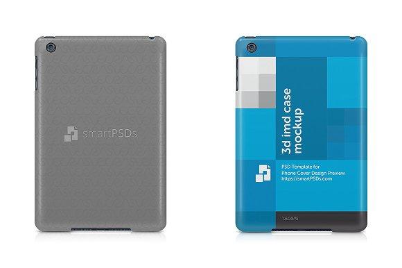 Free iPad Mini Tablet Cover Case Mockup