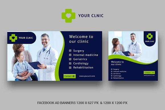 Medicine Facebook Ad Banner LEN