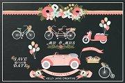 Wedding Wheels - Pink
