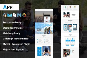 App - Responsive Email Template