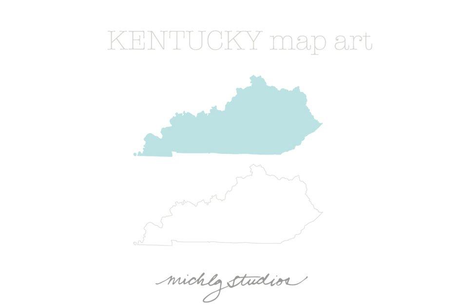 Kentucky – Map Outline, Printable State, Shape, Stencil, Pattern | Map  outline, Kentucky stencil, Stencils