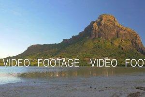 Le Morne Brabant mountain in Mauritius