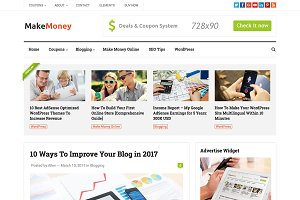 MakeMoney - WordPress Theme