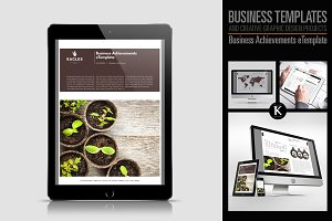 Business Achievements eTemplate