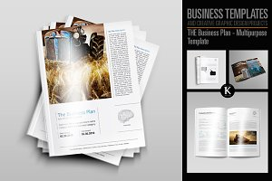 THE Biz Plan Multipurpose Template