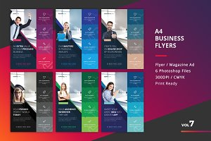 Corporate Flyer Templates 6PSD - #7