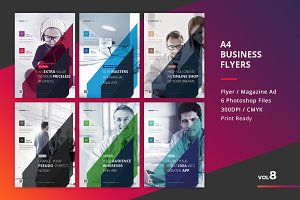 Corporate Flyer Templates 6PSD - #8